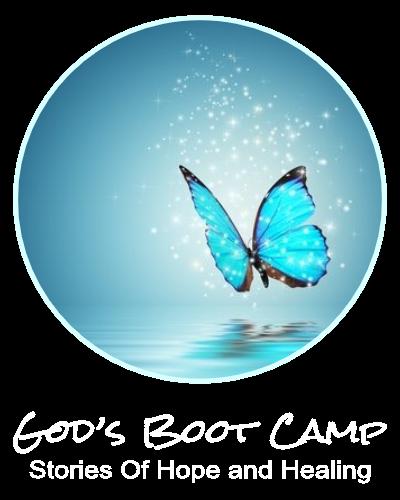 Gods Boot Camp - Logo White Words